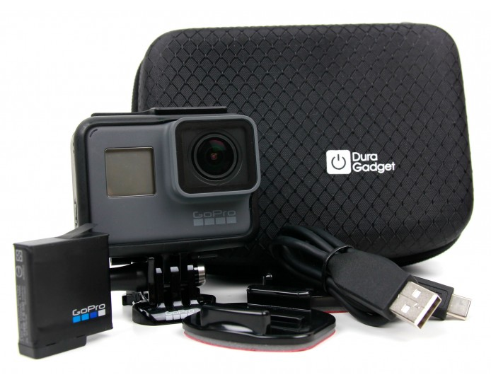 Hard Black Action Camera Carry Case
