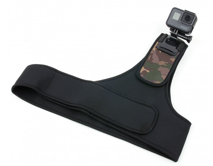 Action Camera Camo Shoulder Mount