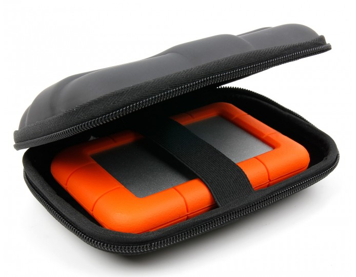 Large Hard Shell Case For Portable Hard Drives