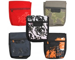 "Limited Edition Messenger Bag in Satchel-Style for 10"" Notebooks (Various Designs)"