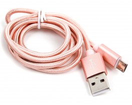 rose gold micro usb cable