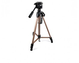 153cm Telescopic Tripod with 3 Way Tilt Head