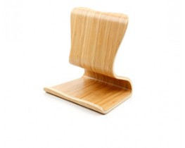 Universal Bamboo Tablet Stand