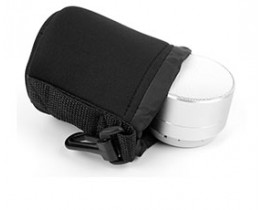 Small Neoprene Pouch Case for Portable Speakers