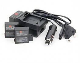 PNJ / AEE DS-S50 Charger (With Optional batteries)
