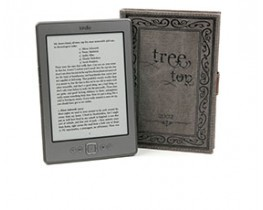 Canvas 'Tree Top' eReader Book-Style Case