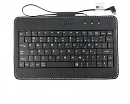 "7"" Micro USB Keyboard for Tablets & Smartphones (UK/FR/DE)"
