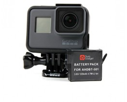 spare gopro hero5 battery by duragadget